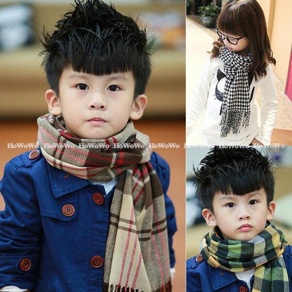 寶寶圍巾  經典格子圍巾 BU1341