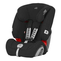 【淘氣寶寶】 英國原裝 Britax Rmer Evolva (9個月~12歲) 旗艦成長型汽車安全座椅(黑)