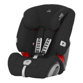 【淘氣寶寶】英國原裝BritaxRmerEvolva(9個月~12歲)旗艦成長型汽車安全座椅(黑)