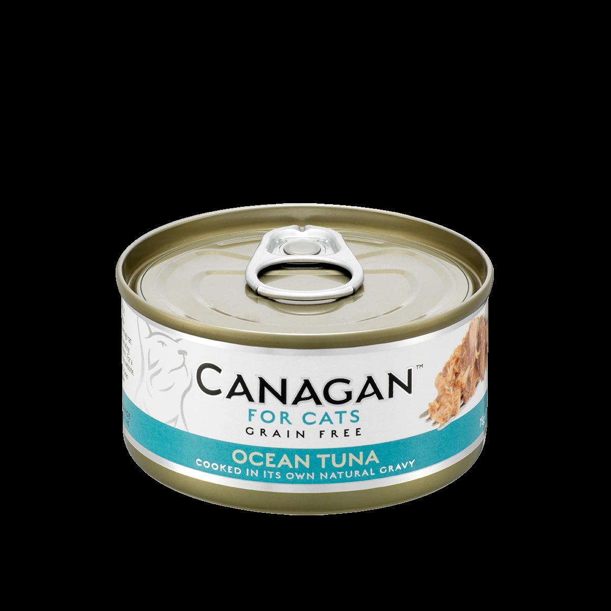 英國canagan卡納根-鮪魚佐淡菜(全貓齡適用) 75g Pet's Talk~ 1