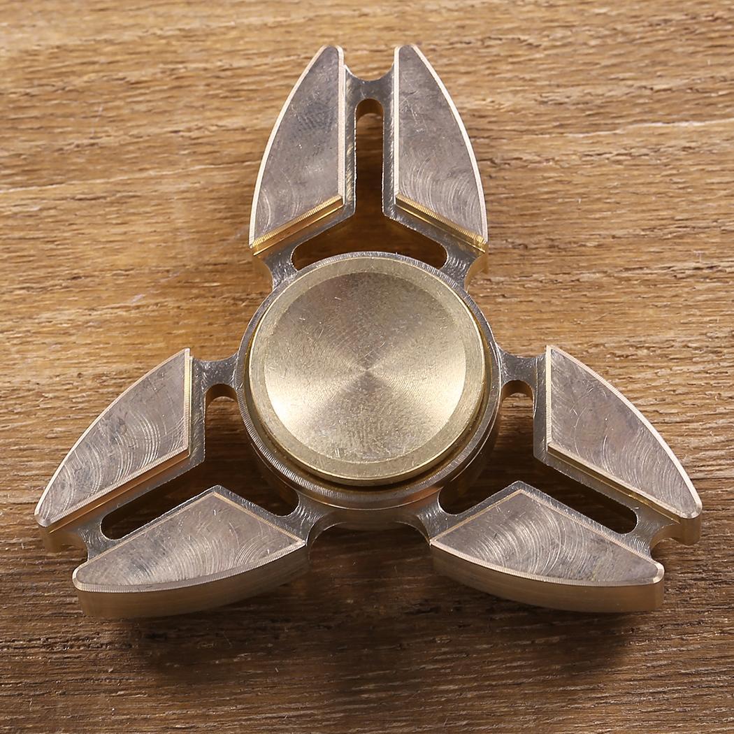 Hand Spinner 360 Tri Fidget Desk Stress Reducer EDC Focus Toy 1
