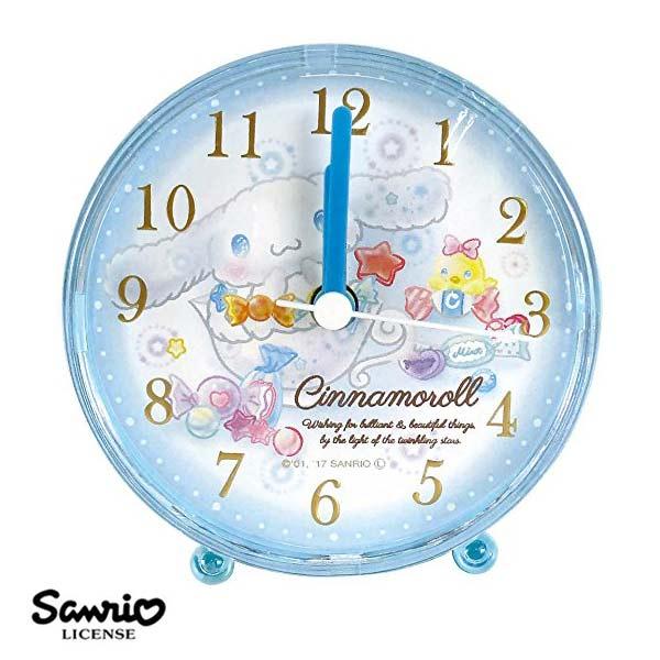 【日本正版】大耳狗Cinnamoroll三麗鷗系列鬧鐘造型鐘指針時鐘Sanrio-060436