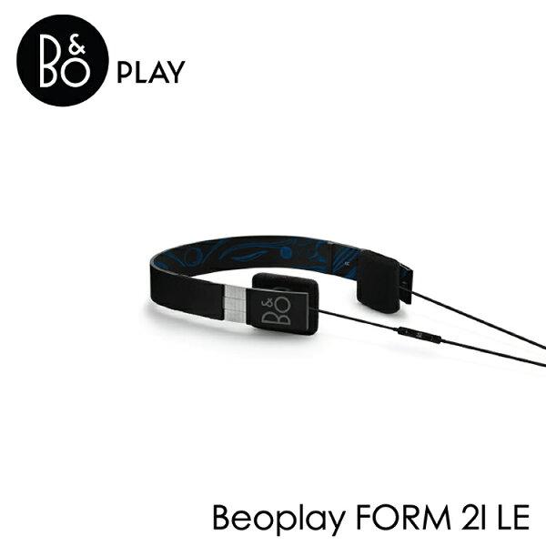 歐肯得:B&OPLAYBeoplayFORM2ILE限量版線控耳機台灣公司貨-黑色藍色