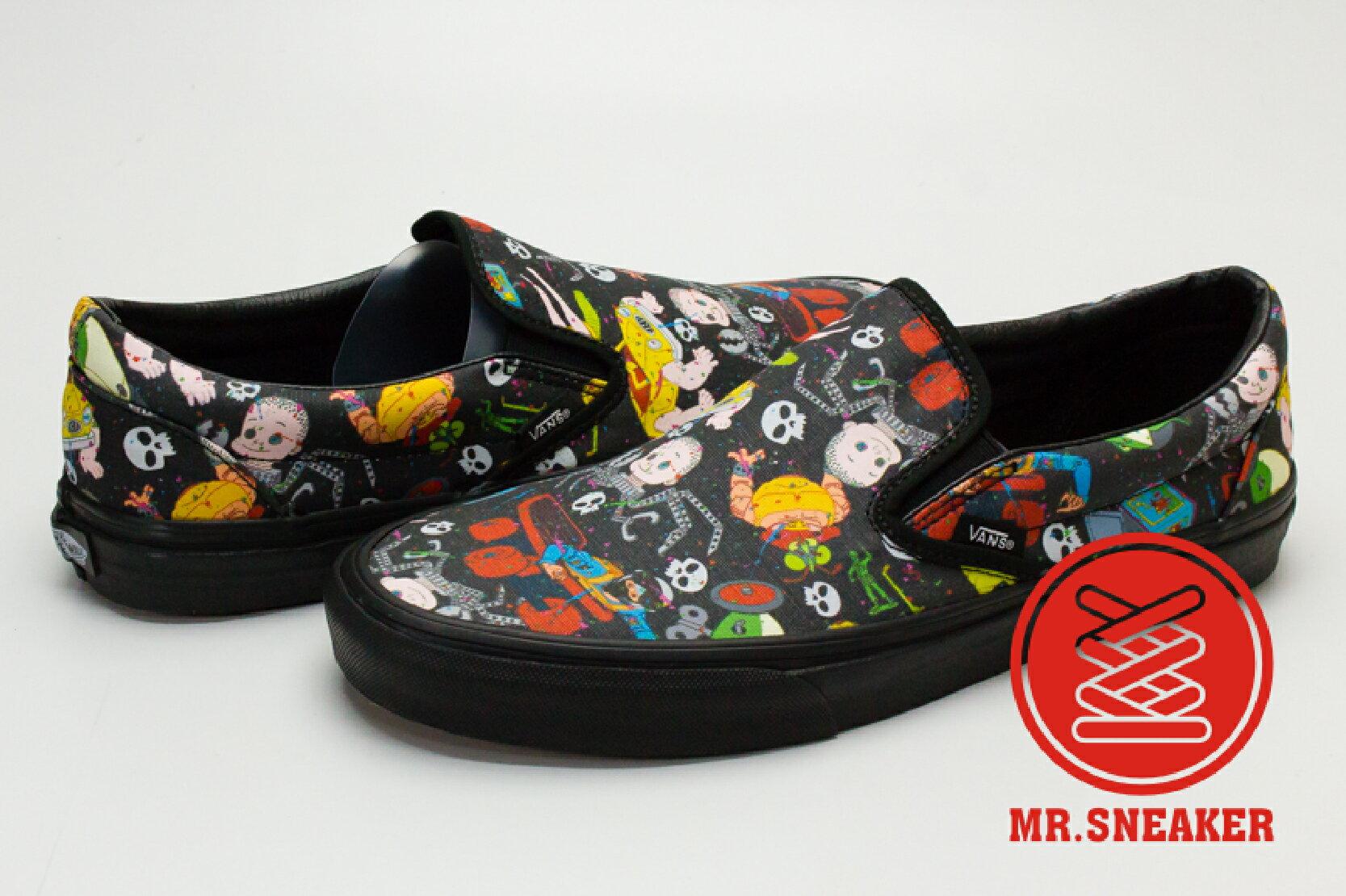 ☆Mr.Sneaker☆ VANS x Toy Story Slip-On 阿薛 Sid 怪怪玩具  黑 男女款