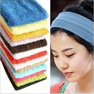 頭巾【心齋橋】新款超酷時尚髮圈運動瑜珈舞蹈頭巾