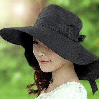 防曬帽【心齋橋】韓版新款防紫外線大帽沿可摺疊防曬遮陽帽(現+預)