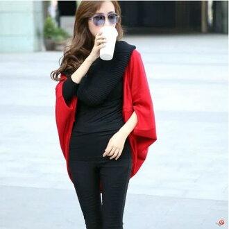針織衫【心齋橋】韓版新款寬鬆版型薄款披肩毛衣針織衫FAN1103(現+預)