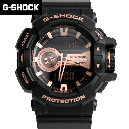 G-SHOCK 玫瑰金雙顯手錶 柒彩年代【NECG6】casio