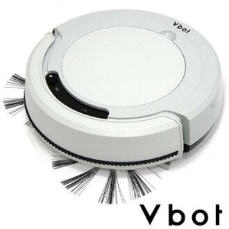 Vbot 迷你智慧型掃地機器人(掃+擦地+吸塵)公主機M270(淺灰)~免運費 iRobot 日立