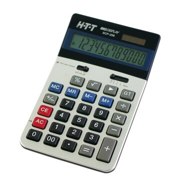 HTT大字幕12位國家考試/國考計算機(雙電源)