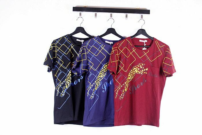 【CS衣舖 】韓系 合身版 萊卡彈力 短袖T恤 3109 8