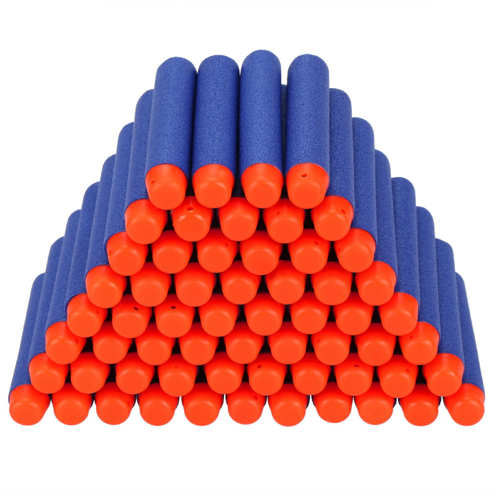 400PCS Kids Toy Universal Safety EVA Round Head Soft Darts Hollow Sticks 1