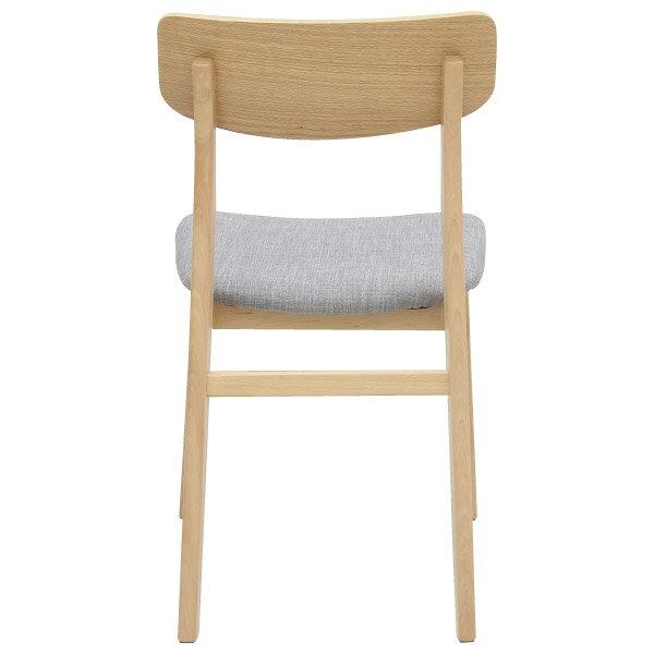 ◎(OUTLET)餐椅兩件組 FILLN3 LBR / GY 45cm 福利品 NITORI宜得利家居 3
