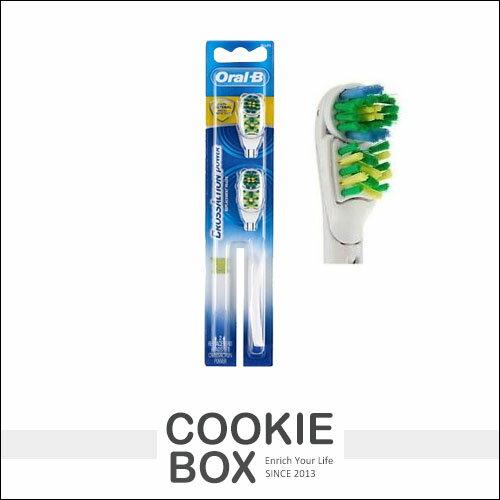 德國OralB百靈歐樂B多動向雙效電動牙刷(替換刷頭)2入*餅乾盒子*