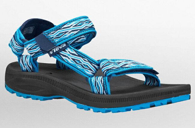 TEVA |美國| HURRICANE 2 悠遊童趣系列-經典織帶涼鞋款/兒童運動涼鞋/110210 【幼童款】