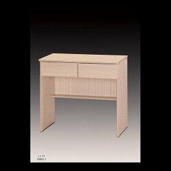 【石川家居】OU-755-7 白橡2.7尺二抽辦公桌/書桌 (不含其他商品) 台北到高雄滿三千搭配車趟免運