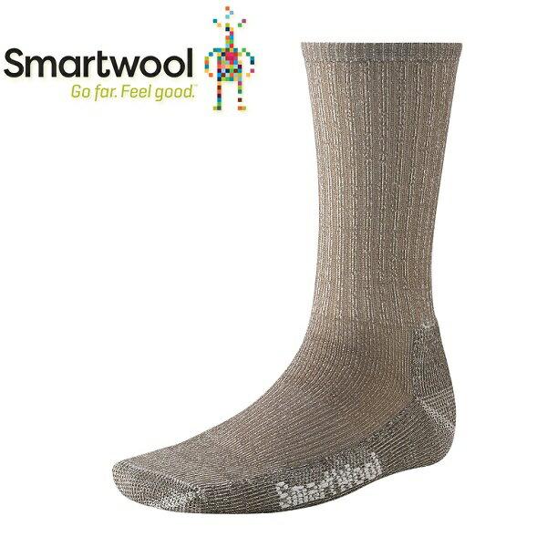 【【蘋果戶外】】Smartwool SW129 236 灰褐色 徒步輕量級避震型中長襪 登山襪 美國製造 美麗諾羊毛襪 排汗襪 保暖 吸濕 抗臭