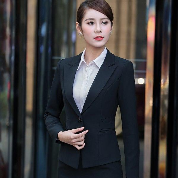 灰姑娘[YL-7124-PF]單釦氣質修身面試OL西裝長袖外套~秋冬新款~~