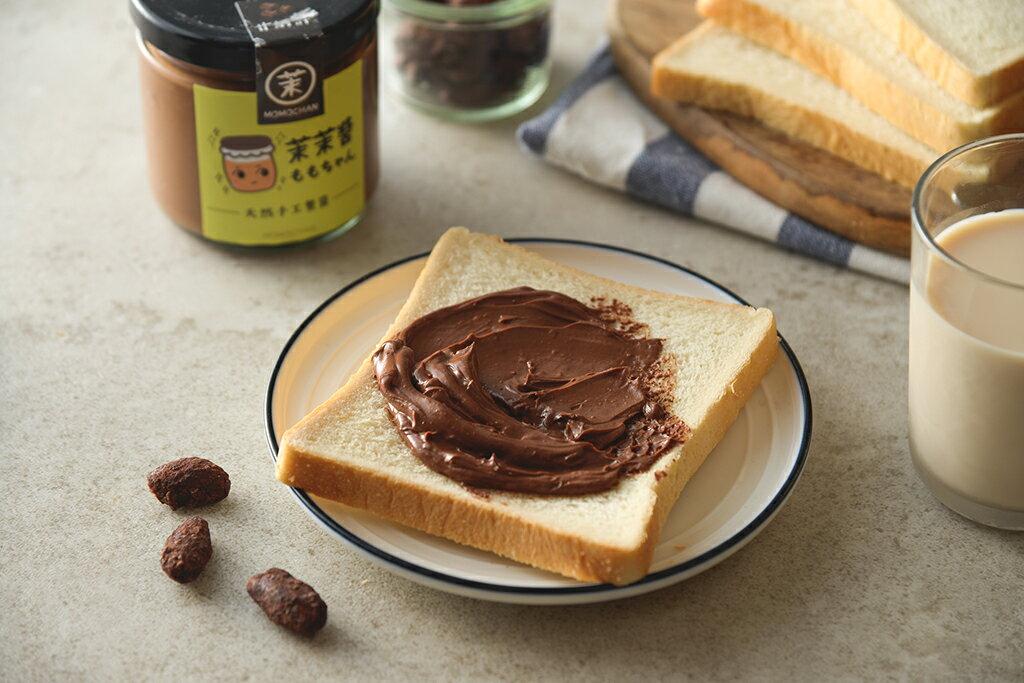 早餐 抹醬 黑巧克力  甘納許苦甜巧力醬(22010克/瓶)