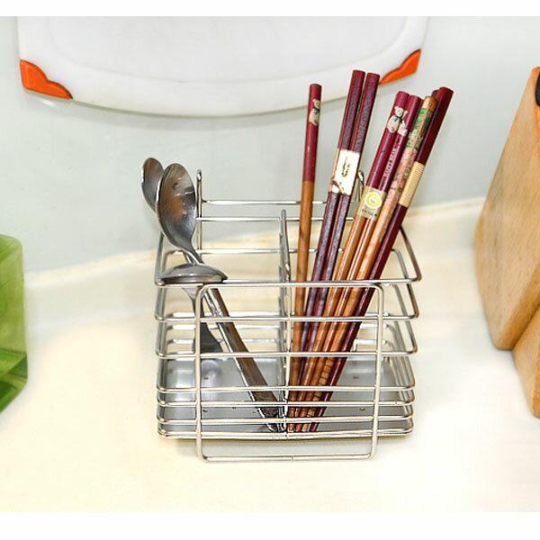 BO雜貨【SV6353】台灣製 ST3006皇家筷籠置物架 不鏽鋼置物架 瀝水架 餐具架 筷子 湯匙 烘碗機內使用