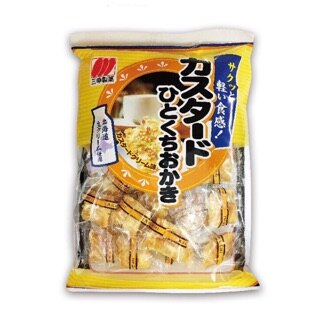 三幸製菓 卡士達一口米果 100g