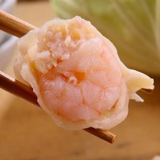 高麗菜蝦仁豬肉水餃20粒裝小巧包 - 限時優惠好康折扣