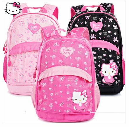 正版 Hello Kitty 凱蒂貓 小學生書包 健康護脊後背包HK3241/單售