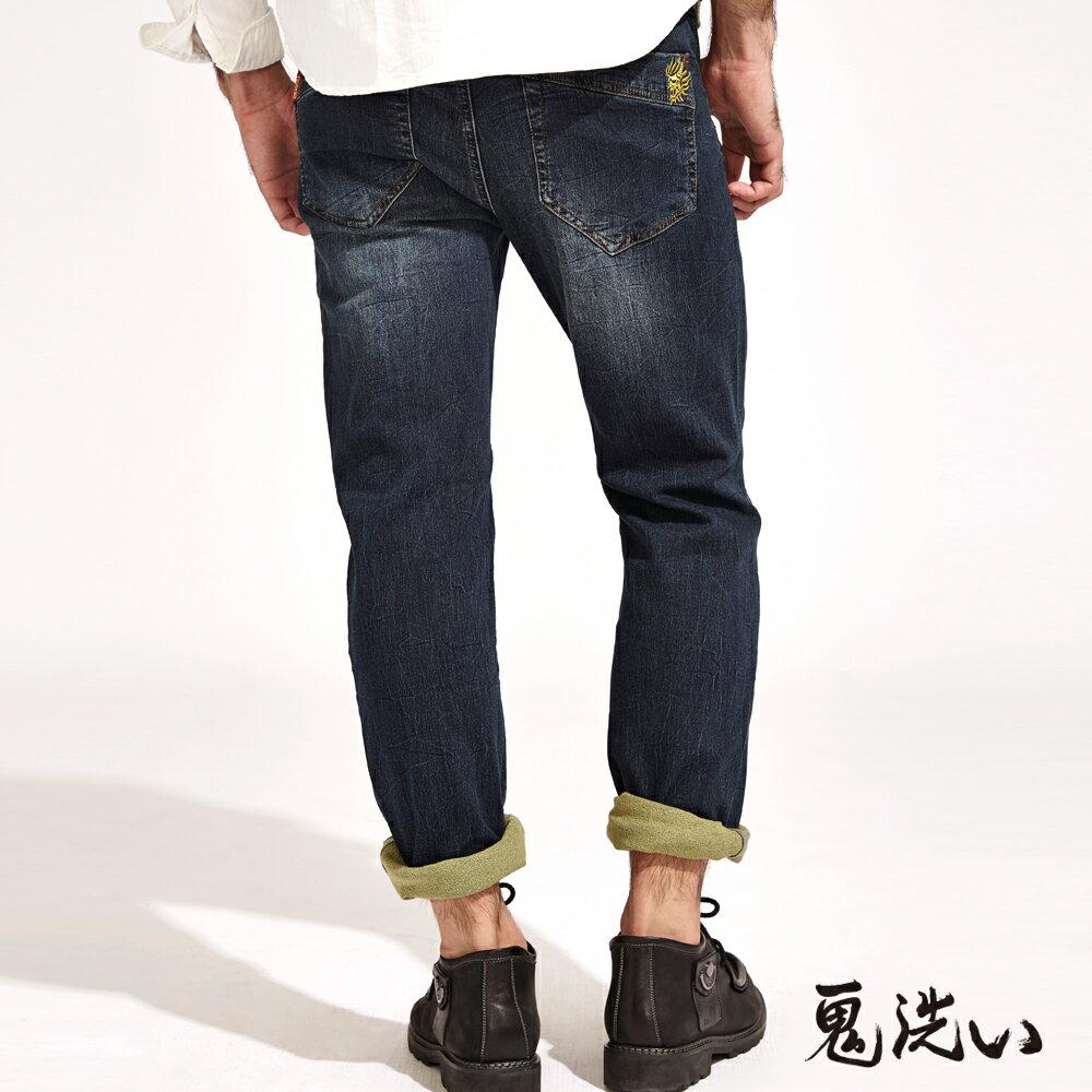 【限時5折】EASY中腰彈性直筒褲 - BLUE WAY  ONIARAI鬼洗 2