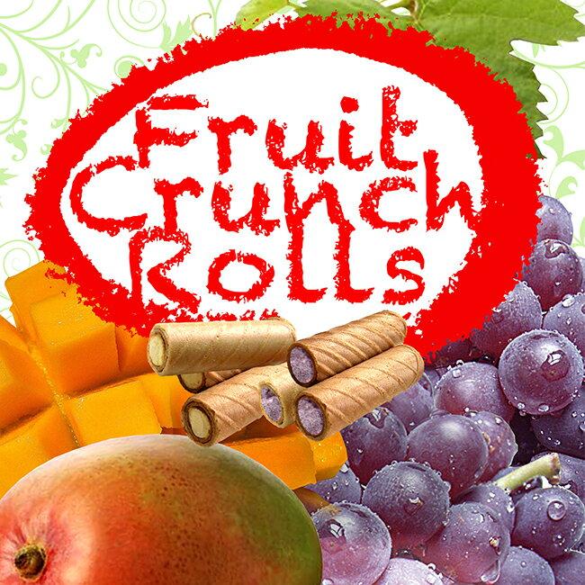 《盛香珍》雙味水果脆捲(葡萄+芒果)120g x10包 2