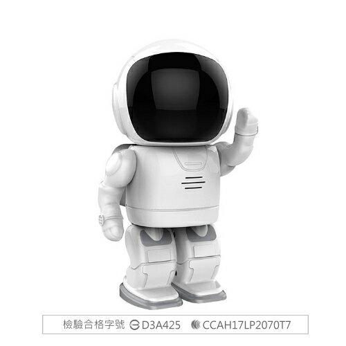 機器人造型夜視 無線監控攝影機 夜視功能 監視器 無線攝影機 錄影機 網路攝影機  WIFI