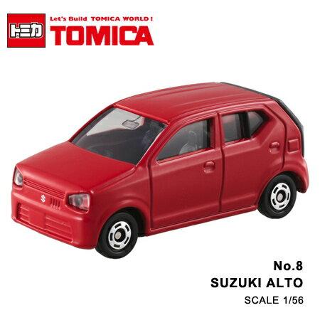 日貨 TOMICA No.8 SUZUKI ALTO 金鈴 掀背 真車系列 汽車模型 多美