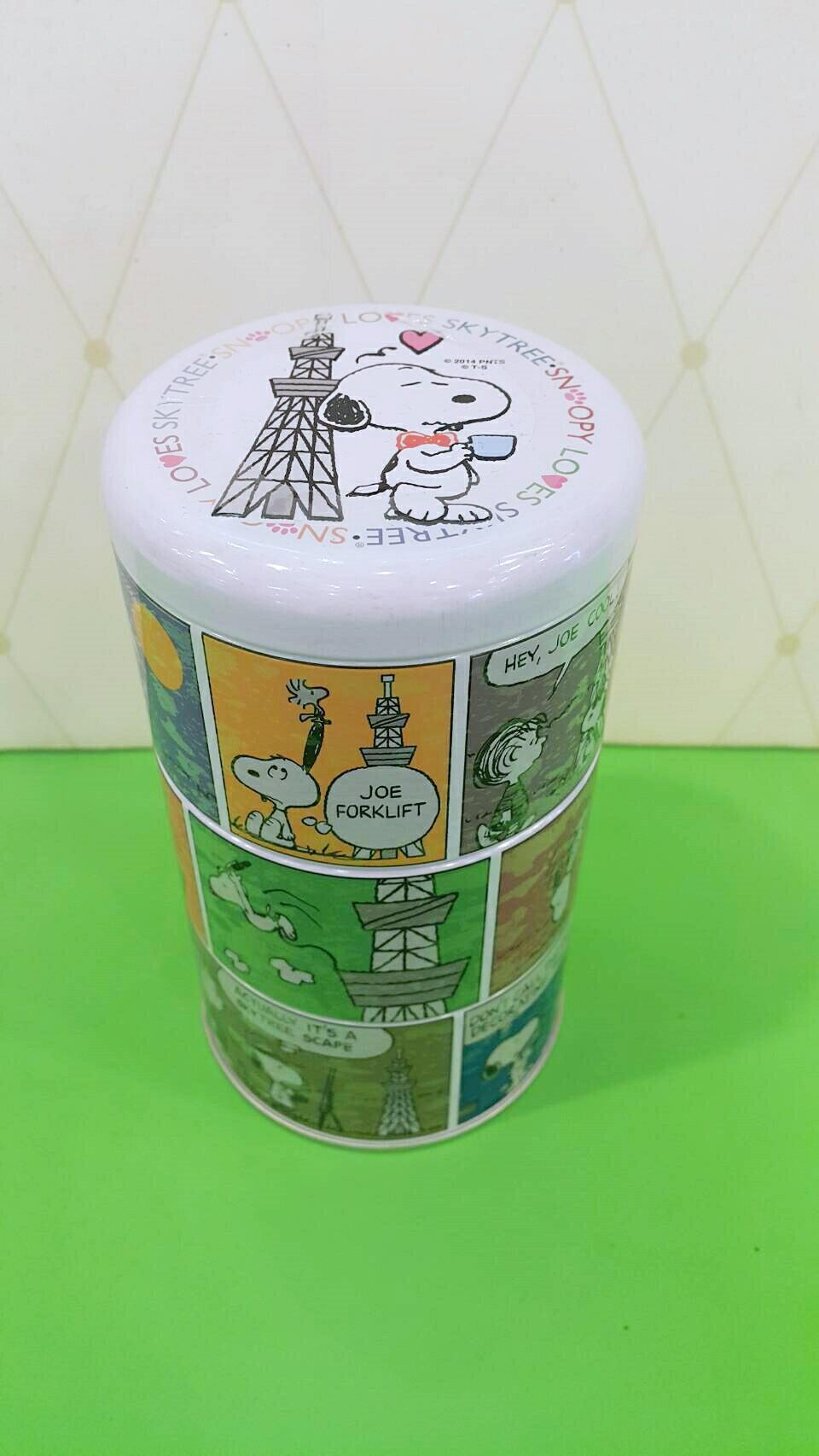 X射線【C205277】日本晴空塔代購-晴空塔 x 史努比Snoopy5週年限定版紀念餅乾罐,點心/零嘴/餅乾/糖果/韓國代購/日本糖果/零食/伴手禮/禮盒