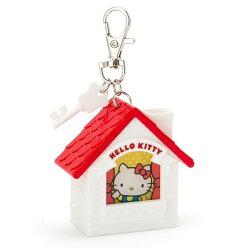 X射線【C943007】Hello Kitty 屋型亮燈鑰匙圈,包包掛飾/鑰匙圈/吊飾/鎖圈