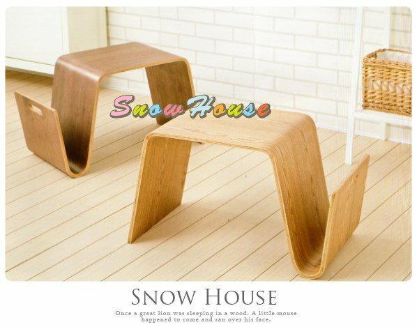 ╭☆雪之屋居家生活館☆╯AA442-02 刻尼卡小茶几(胡桃)/收納櫃/置物櫃/置物桌/造型几/70公分寬
