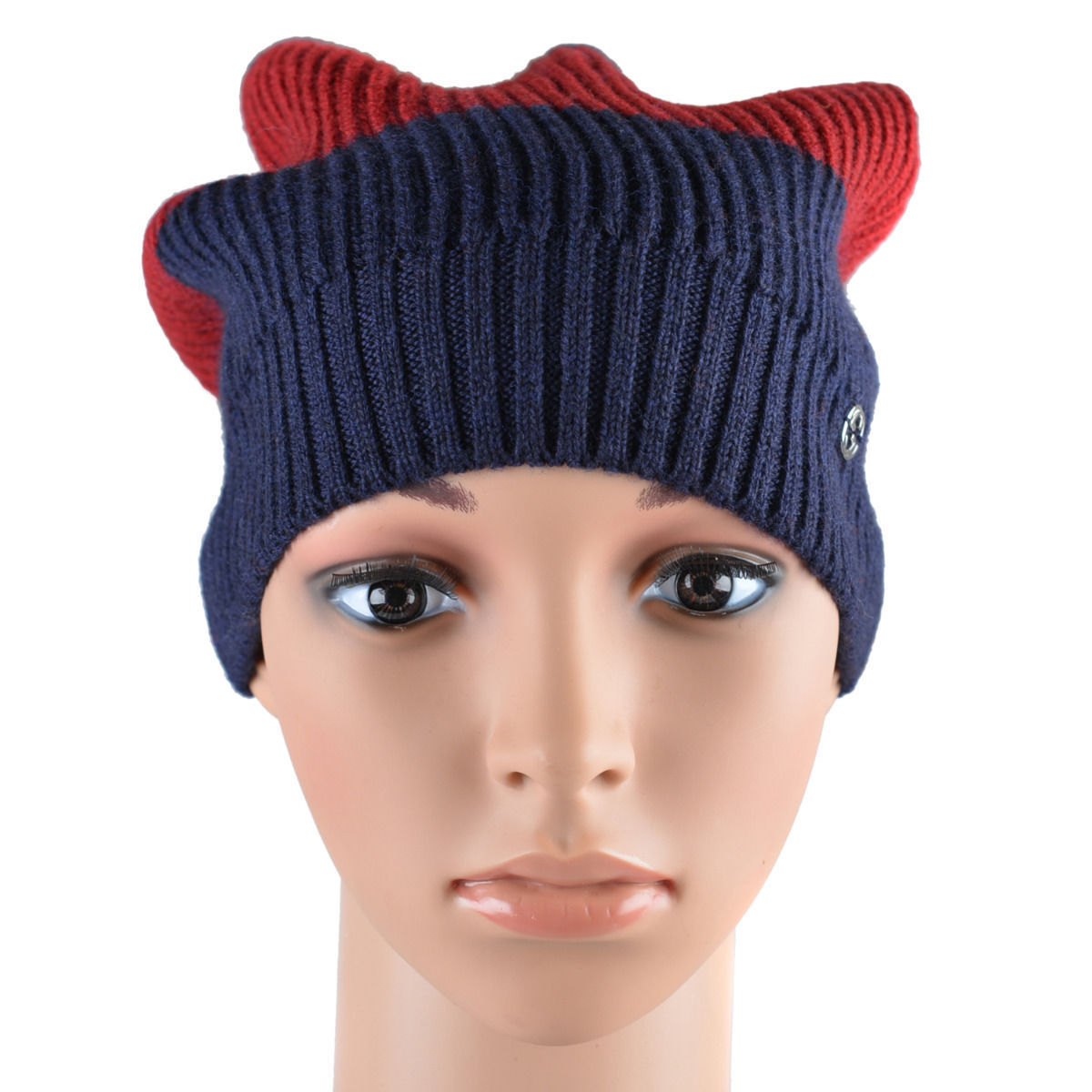 37825739d ONE MODA  Gucci Unisex Multi-Color 100% Wool Beanie Hat One Size ...
