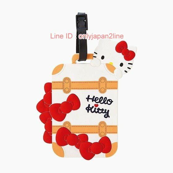 【真愛日本】17021500006  造型行李吊牌-KT旅行+AAB   三麗鷗 Hello Kitty 行李箱配件 吊牌 旅行箱
