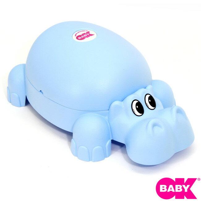 小崴Life親子館 OKbaby 寶寶便盆 (河馬造型) (F018) 義大利製