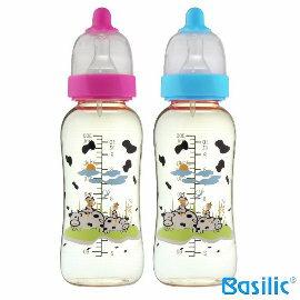 小崴Life親子館~貝喜力克 Basilic~防脹氣PPSU葫蘆型奶瓶300ml  D14