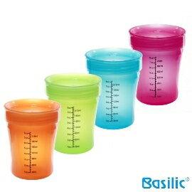 小崴Life親子館【貝喜力克 Basilic】簡易杯 (D175) 台灣製造 專利雙出水孔 水杯/喝水杯/學習杯
