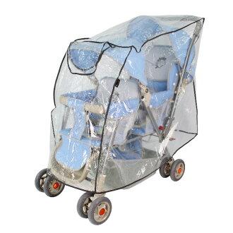 小崴Life親子館 Yip BABY 雙人推車雨罩 (U88005)