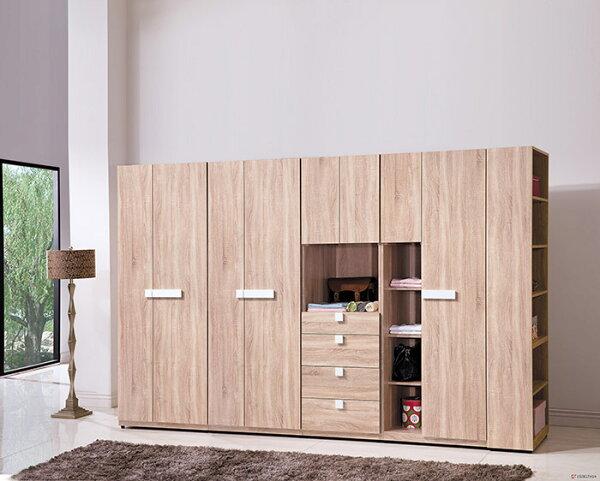 【尚品家具】HY-A146-05多莉斯系統式10.4尺衣櫥