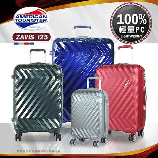 《熊熊先生》行李箱旅行箱AT美國旅行者I25新秀麗出國箱28吋