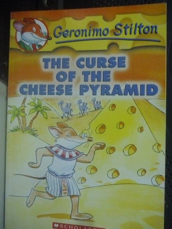 ~書寶 書T1/原文小說_LKE~The curse of the cheese pyra