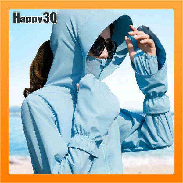 騎機車防曬衣機車族必備擋手擋臉薄款外套罩衫防曬擋太陽-多色S-3XL【AAA4501】
