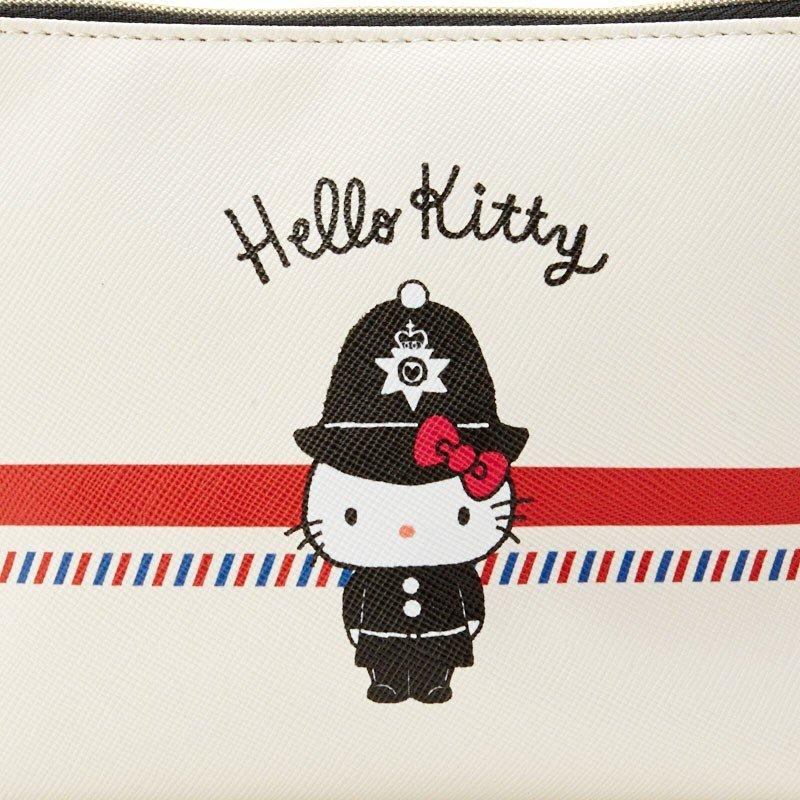 拉鍊化妝包 三麗鷗 KT貓 Hello Kitty 凱蒂貓 收納包 日本進口正版授權
