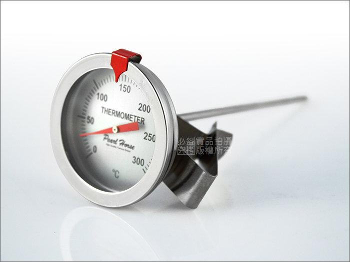 快樂屋♪ 《日本寶馬牌》304#不鏽鋼溫度計0~300度 適油炸.料理/TA-TM-300
