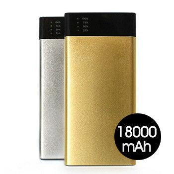 MINIQ雙USB輸出18000mAh行動電源MD-BP-032(金) [大買家] 2