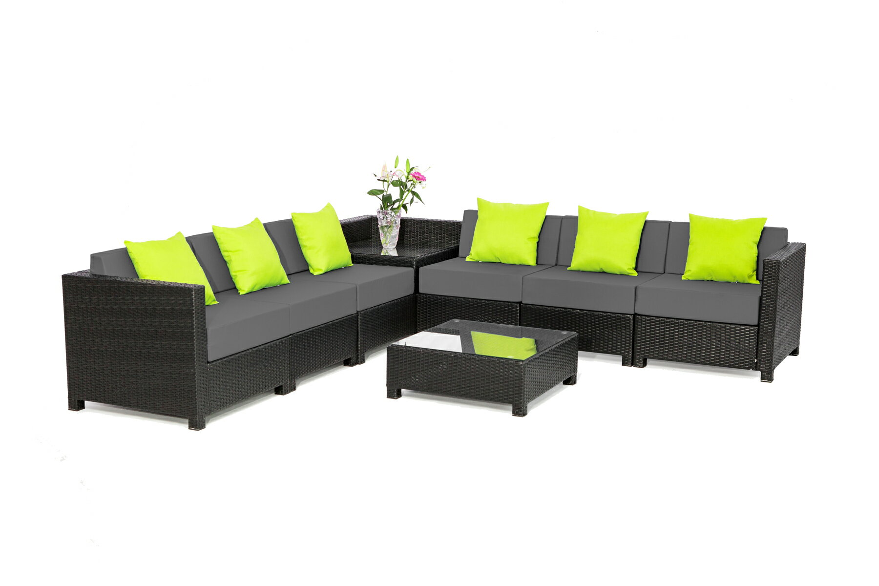 mcombo | Rakuten: Mcombo 8 pcs Luxury Wicker Patio Sectional ...