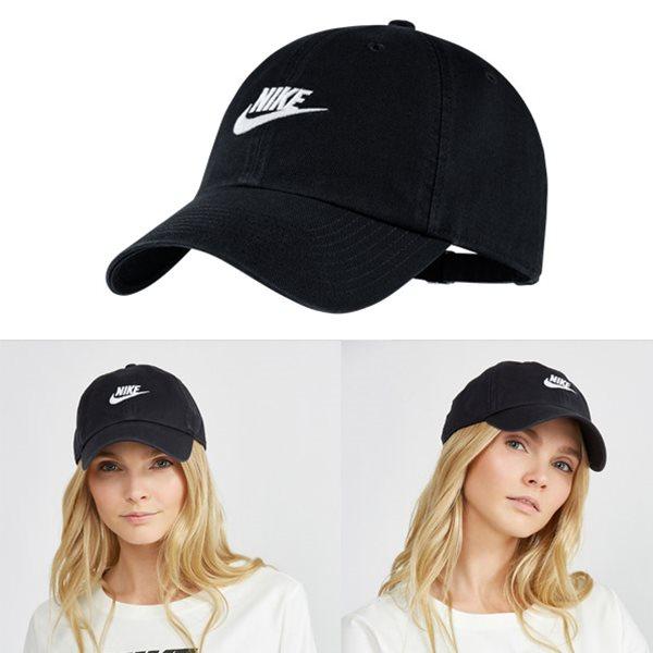 KUMO SHOES-現貨 Nike FUTURA WASHED CAP 老帽 休閒 黑913011-010