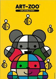ART-ZOO特展平裝筆記本-彩色熊&黑白熊